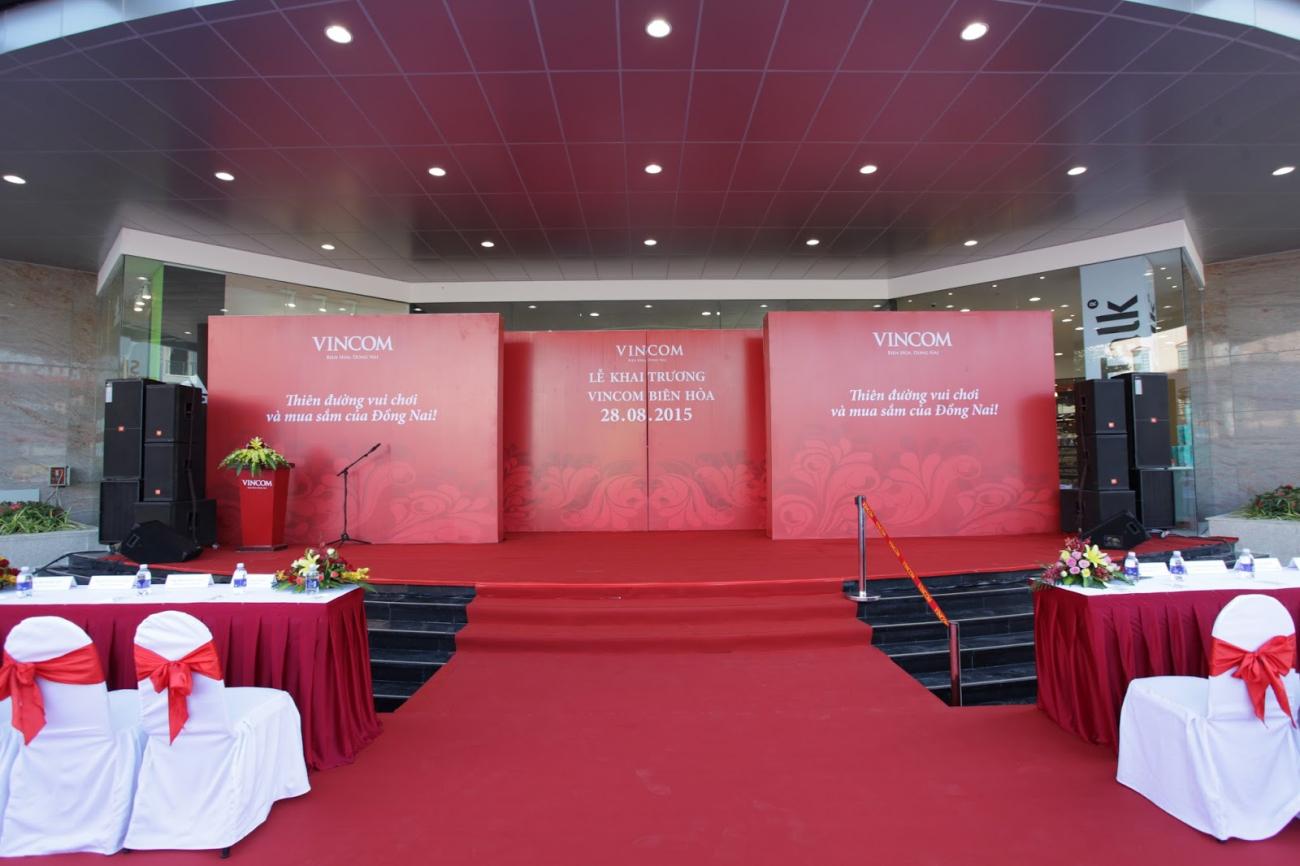 Lễ khai trương trung tâm thương mại vincom biên hoà - 4