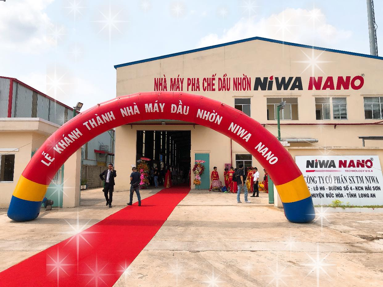 Lễ khánh thành nhà máy pha chế dầu nhờn niwa nano - 1