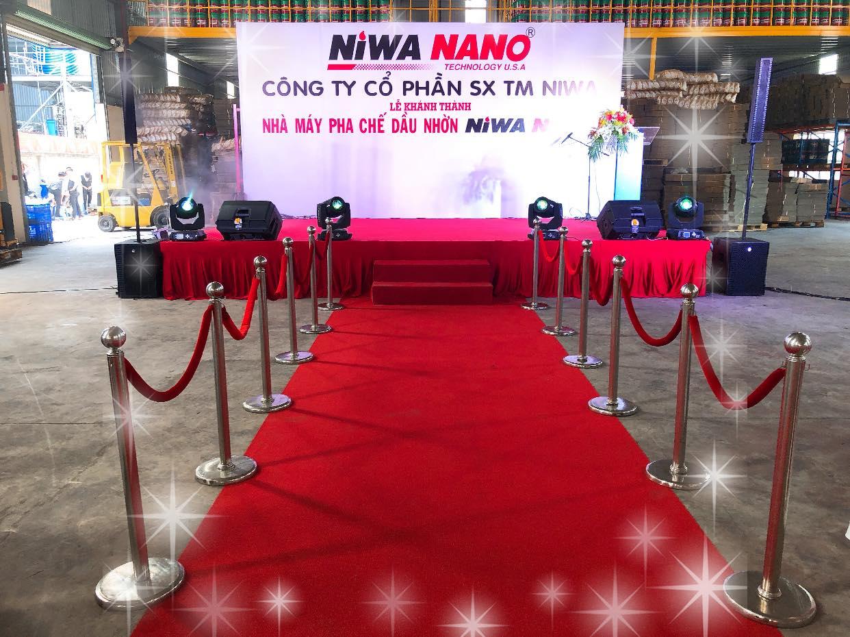 Lễ khánh thành nhà máy pha chế dầu nhờn niwa nano - 4