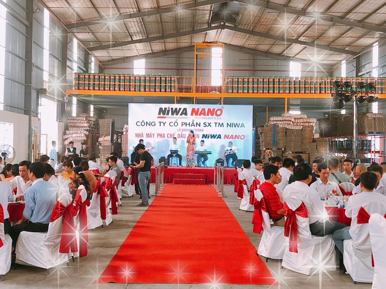 Lễ khánh thành nhà máy pha chế dầu nhờn niwa nano - 5
