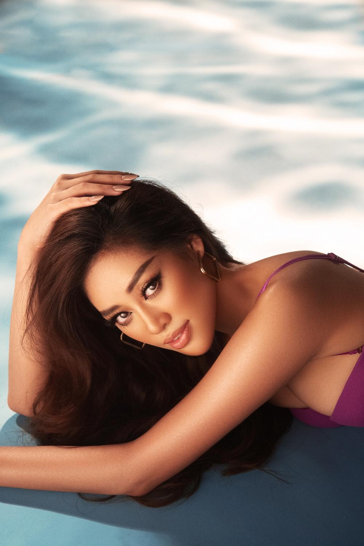 Hoa hậu khánh vân tung ảnh bikini khoe body nóng bỏng - 2