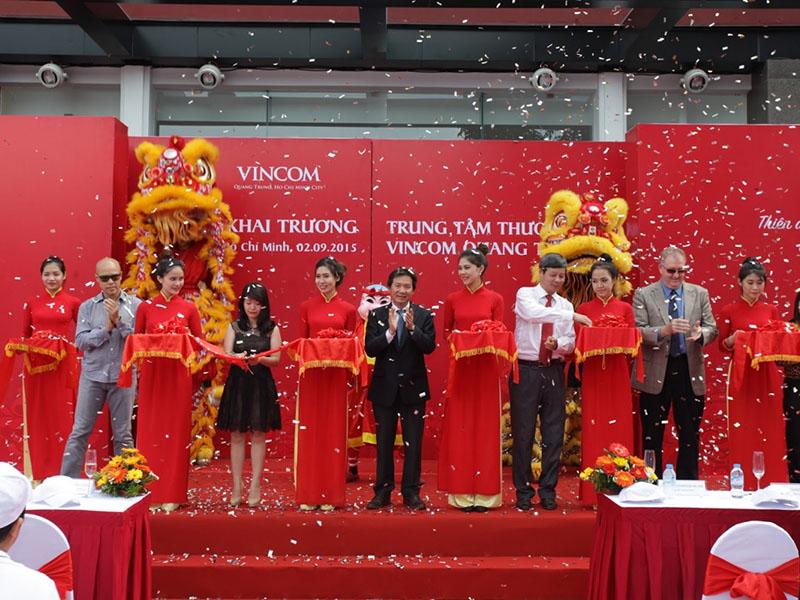 Lễ Khai Trương Trung Tâm Thương Mại Vincom Quang Trung