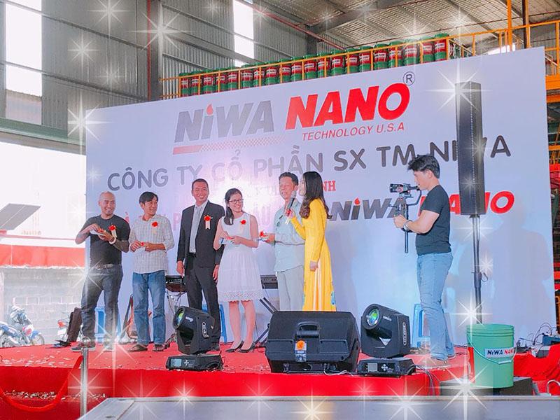 Lễ Khánh Thành Nhà Máy Pha Chế Dầu Nhờn Niwa Nano