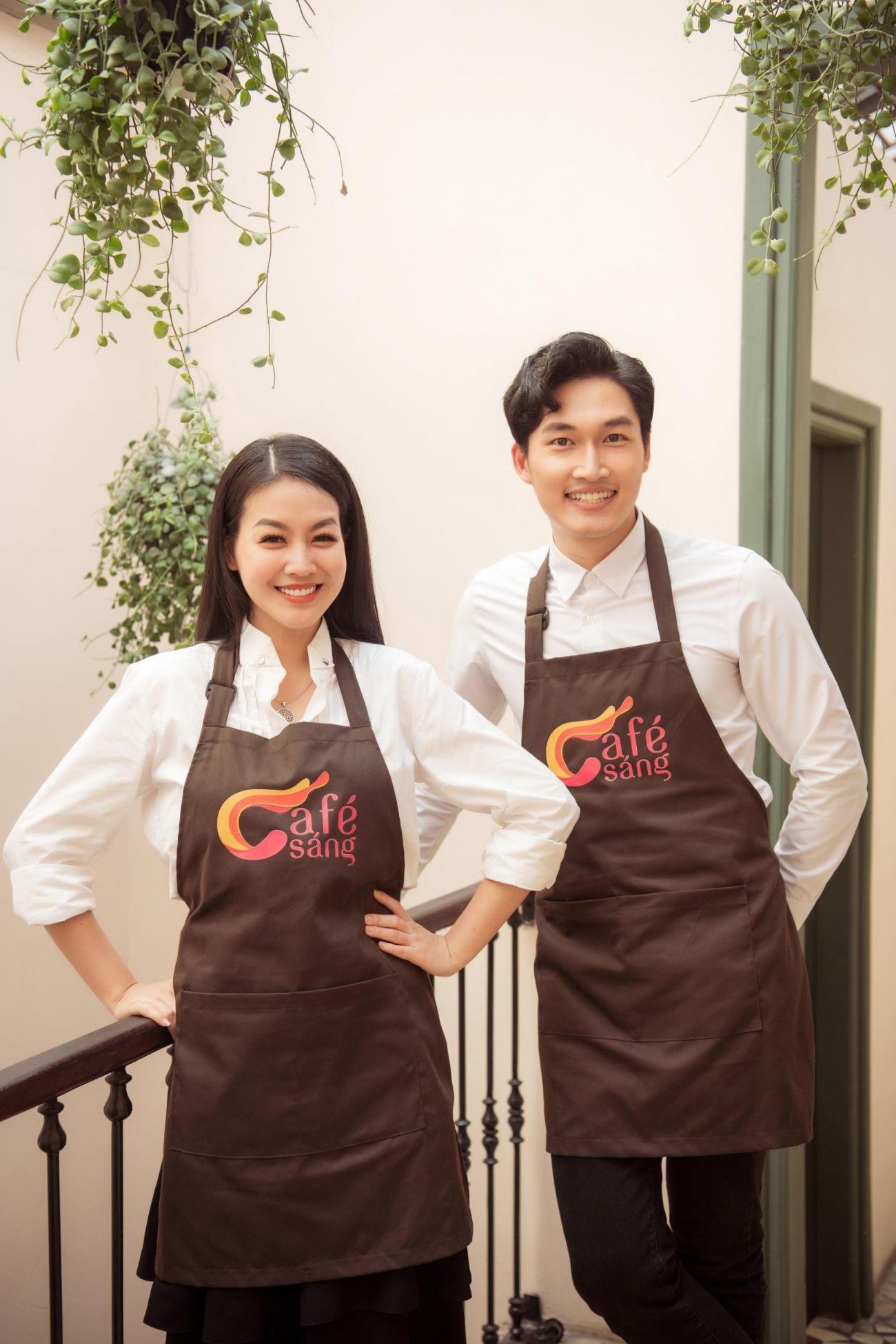 Á hậu Phương Nga, diễn viên Đình Tú bất ngờ làm MC 'Café sáng'
