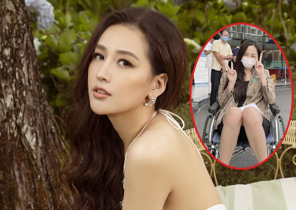 Mai Phương Thúy khiến fan lo lắng khi đăng ảnh ngồi xe lăn