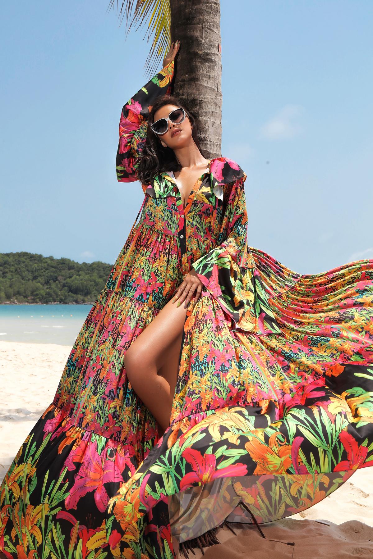 Á hậu Kim Duyên gợi ý trang phục đi biển