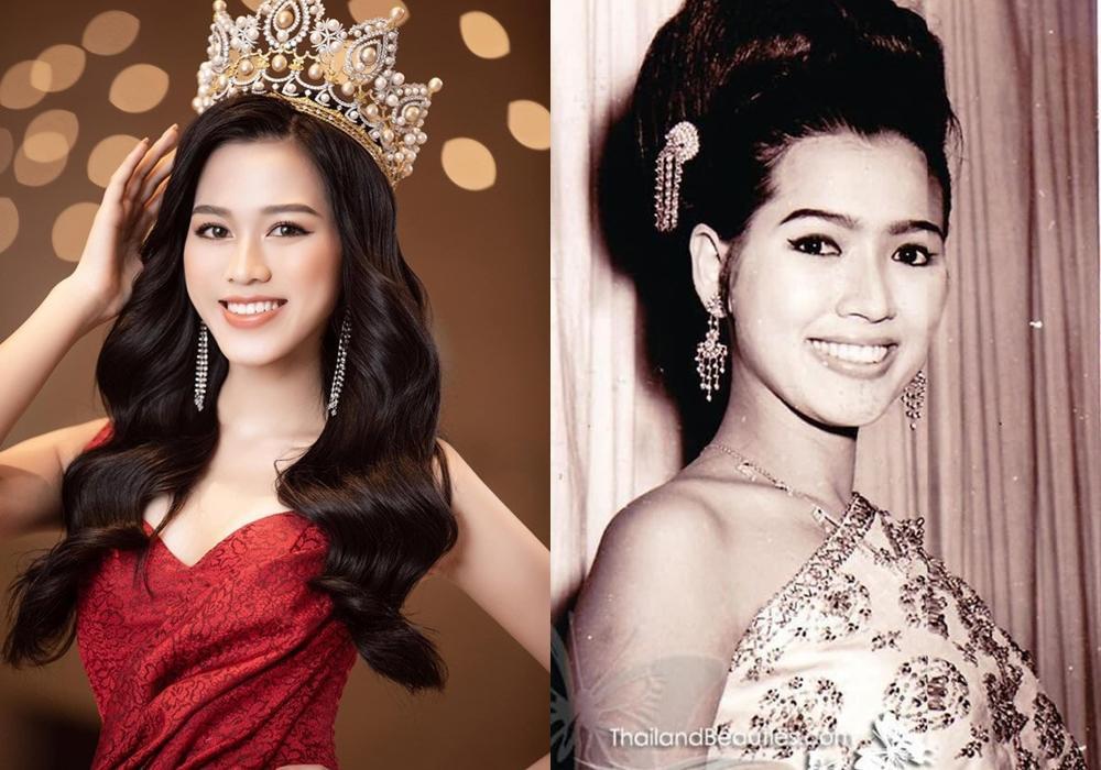 Netizen ngỡ ngàng phát hiện Hoa hậu Đỗ Thị Hà có nhiều nét cực giống Miss Universe 1965