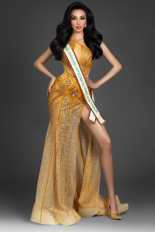 Thùy Tiên thi Hoa hậu Hòa bình Quốc tế 2021